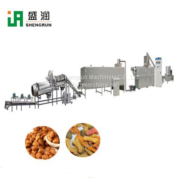 Puff Pet Dog Food Extruder Machine