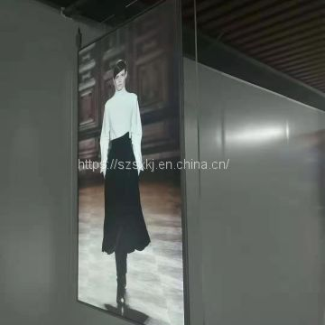 Ultra-thin double-sided LCD advertising screen