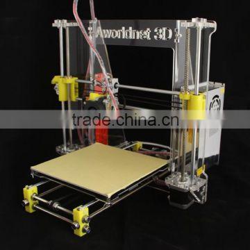 Prusa Reprap i3 Aworldnet 3D printer DIY kit A600 impressora