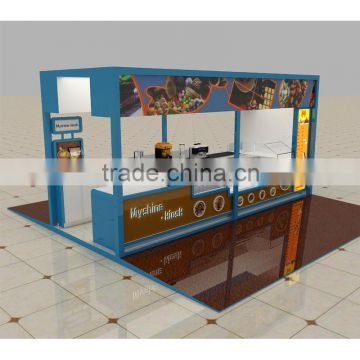 High Grade Modern Fast Food Counter Design For Mall