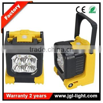 120 degree rotating head led flood light outdoor 12w rechargeable led light