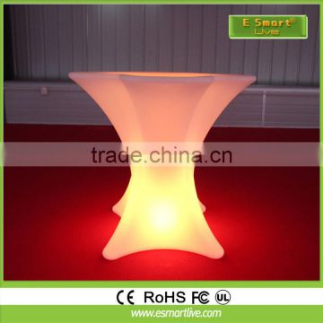 electronic poker table&glowing table LED furniture table& bar furniture