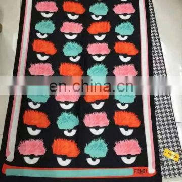 Different OEM Fashion Fringe Scarf Made In Zhen Bang Factory