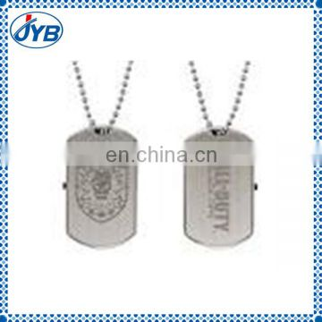 cheap aluminum custom logo titanium dog tags engraved