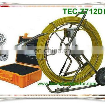 Waterproof Big Pipe Sewer Camera ,Pipe Camera, Pipeline Inspection Equipment TEC-Z712DN