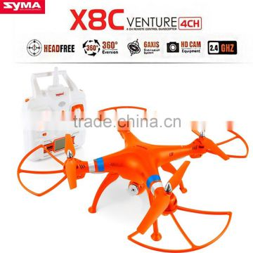 Wholesale Original Syma X8C quadcopter 2.4G 4CH 6 Axis RC Done With Camera 2MP Wide Angle Camera