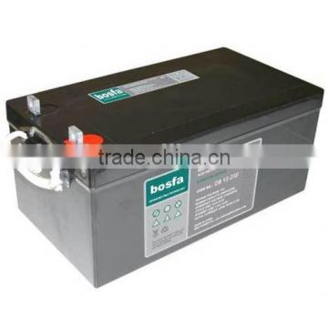 DB12-230 sealed lead acid battery 12v 230ah 12v battery toy db battery co battery 12v agm 12v industrial battery pack