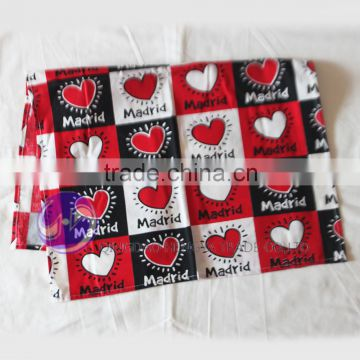 2015 wholesale cheap plain white cotton kitchen towels printing