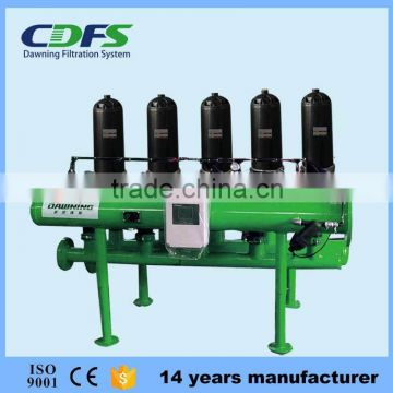 CDFS automatic backwash industrial disc filters