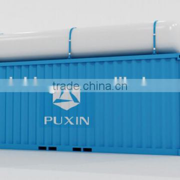 New PUXIN Container Anaerobic Treatment System for food waste disposal