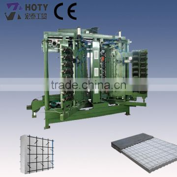 less labor cost sandwich panel press machine plc control
