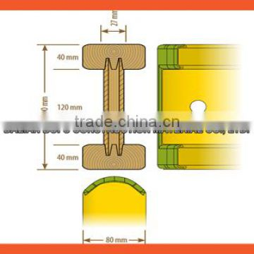 BOFU durable h20 timber beam for concrete formwork