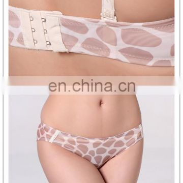 New arrival Hot sale leopard print brassiere sexy underwear woman Trade assurance supplier ( YD-A7 )