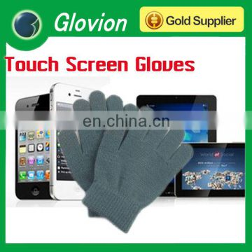 Hot sell acrylic military winter gloves Unisex winter touch screen winter gloves cute winter touch screen glove