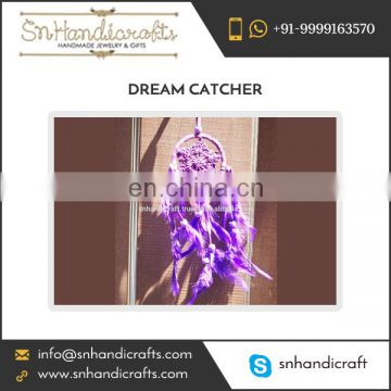 Small Purple Crochet Dream Catcher Available at Best Selling Price