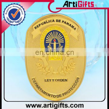 Good quality custom metal wholesale sheriff badge