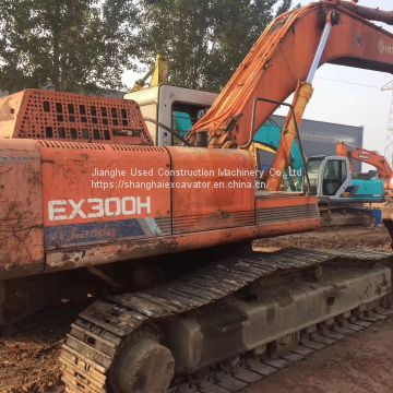 Used Hitachi EX 300-1 Wheel Excavator