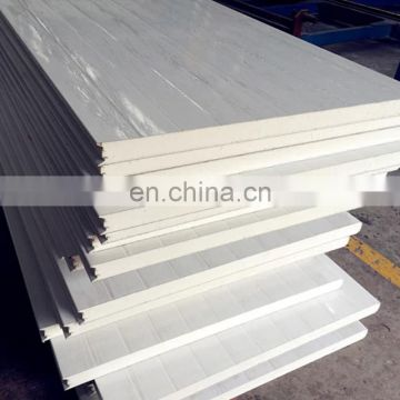 50mm 75mm 100mm PU wall sandwich panel for construction