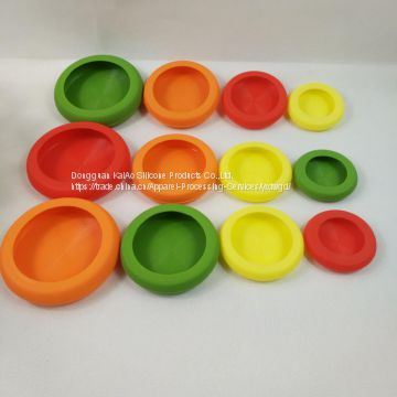 Food Huggers Silicone Vegetables Fruit Wrap Container