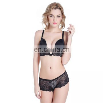 HIgh quality ladies transparent lace Underwear 32 size bra pictures