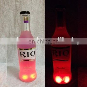 4pcs led bottle coaster led sticker for bottle
