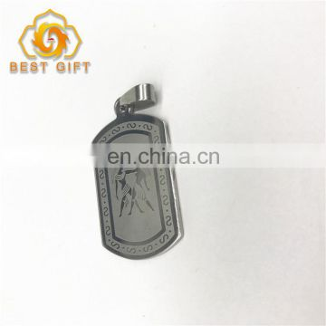 High Quality Metal Laser Engraved Dog Tag