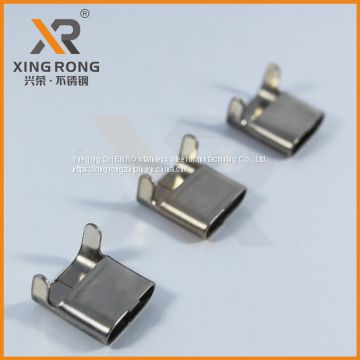 L-type stainless steel banding buckle