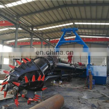 22inch popular cutter suction sand dredger vessel for hot sale.