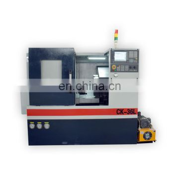 CK50L Direct factory cheap optional live tooling slant bed linear guideway cnc lathe