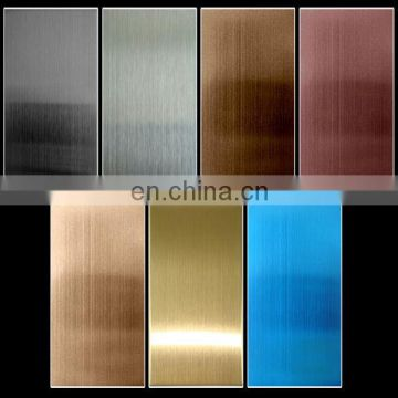 4x8 Colored Stainless Steel Sheet Price Per KG