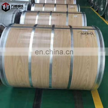 Wooden Design Galvalume Al-Zn Steel Coil from Shandong