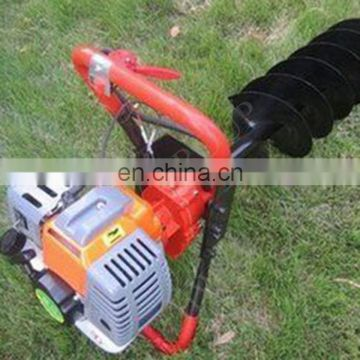 63cc earth auger/one man operated earth auger gasoline auger