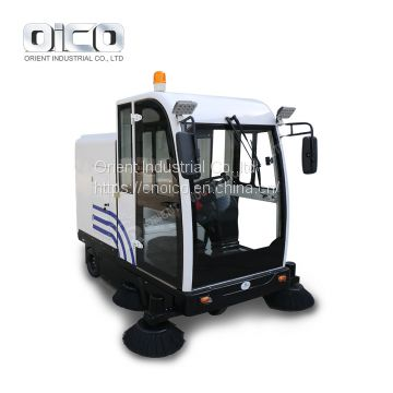 OR-E800LD automatic rider street sweeper