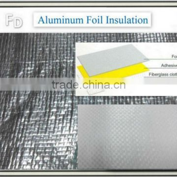 heat resistant aluminum foil backed foam insulation sheet
