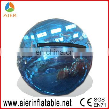 2016 transparent jumbo water ball and water zorb ball, inflatable water walking ball rental