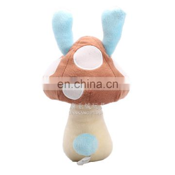 Custom Stuffed Mushroom Cartoon Character Plush Vegetable Toy