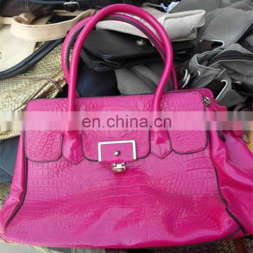 strong hight quality lady handbags indian used clothing wholesale