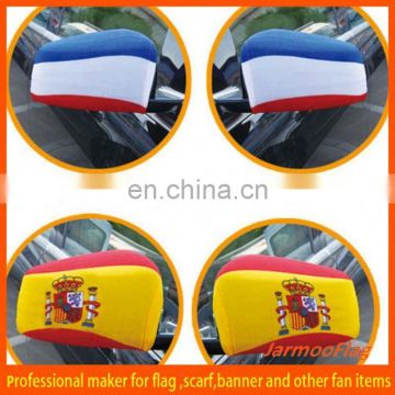 custom advertisement car mirror sock