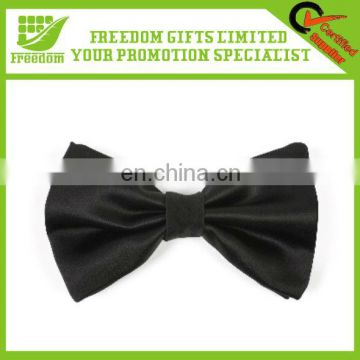 Promotional Mens Casual Black Bow Tie