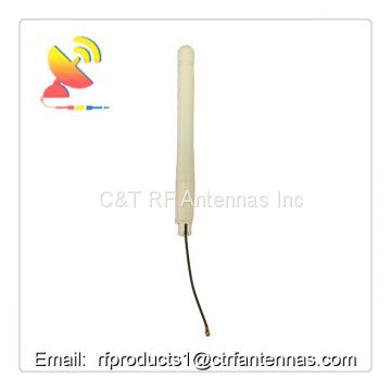 Rf antenna 2.4G wifi rubber duck omni-directional wireless antenna with rf pigtail u.fl rg1.13 cable