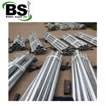 High Capacity Helical Screw Piles and Anchors for export