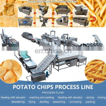 automatic potato chips making machine price potato chips production line
