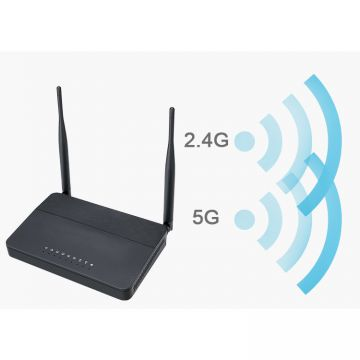 Black color voip router fxs/ wifi ata router FWR9601 for hotel