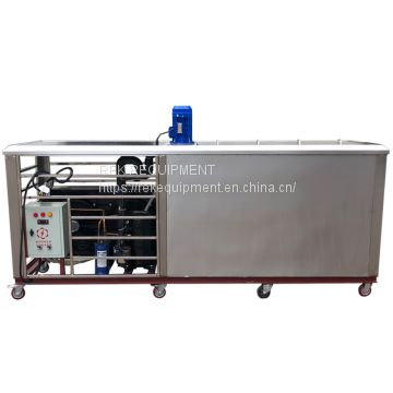 2019 Large Capacity 2T Industrial Big Ice Block Machine for Frozen food Factory