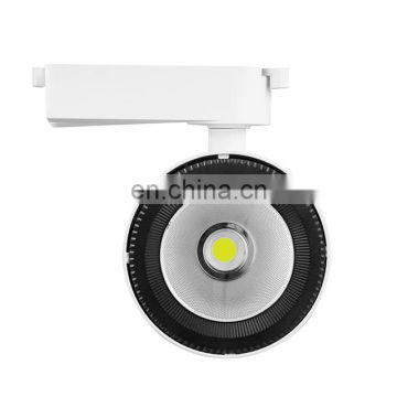 High quality modern commercial lighting 15W COB LED track light