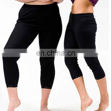 black long man satin silk underwear pants