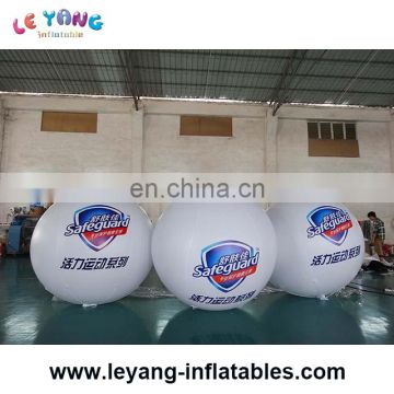 0.18mm PVC inflatable helium balloon print with brand logo for advertising/promotion
