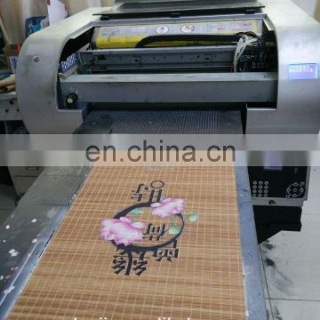multicolor bamboo digital printer machine with DX5 printhead