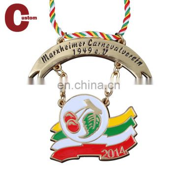 Ancient Souvenir Medal Custom Gold Award Printing Promotional Metal Medals