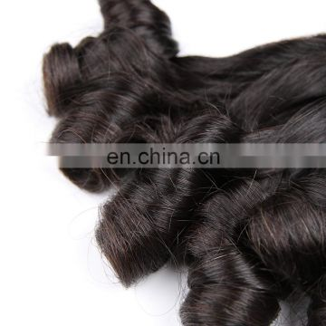 Hot beauty 7A funmi spiral curls 100% virgin human remy hairs